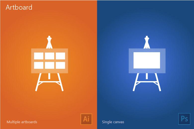 مقایسه Photoshop با Illustrator