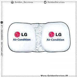 آفتابگیر تبلیغاتی - LG