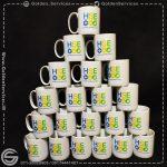 چاپ لوگوی اختصاصی روی لیوان سرامیکی ساده - شرکت سرمایه گذاری سیراف انرژی