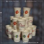 طراحی و چاپ اختصاصی روی لیوان کاغذی - شرکت تولید برق جنوب فارس