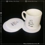 چاپ فنجان تبلیغاتی - قهوه تک