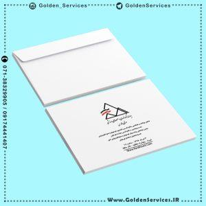 نمونه چاپ پاکت کاغذی - هیات کوهنوردی و صعودهای ورزشی فارس