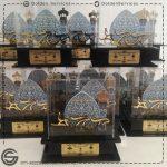 تولید تندیس پلکسی - جشنواره ملی رادیویی چلچراغ شیراز