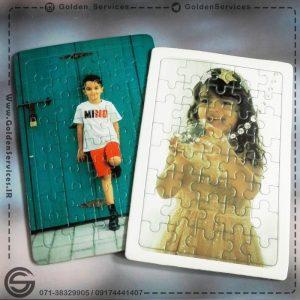 چاپ عکس روی پازل مقوایی - کودک
