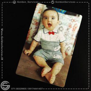 چاپ عکس روی پازل آهنربایی - BABY