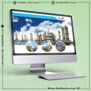 طراحی سایت پالایشگاه - bca