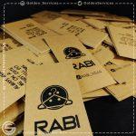 چاپ اتیک آویز کرافت - تولیدی RABI